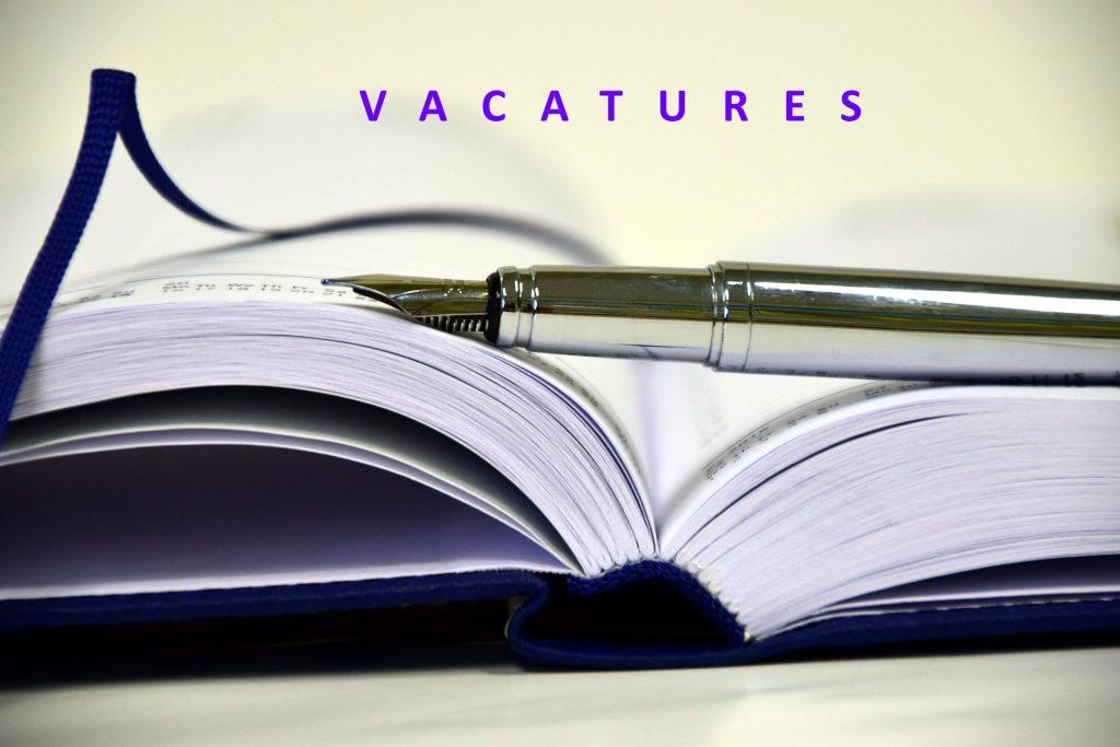 Vacatures nieuwe schooljaar 1